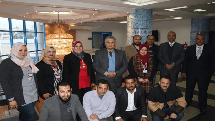 زيارة معالي السفير / رضا الطايفي